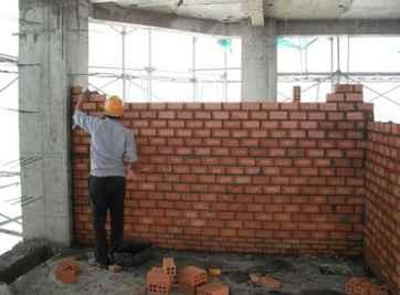 Hướng dẫn cách bổ trụ trong tường xây đúng kỹ thuật