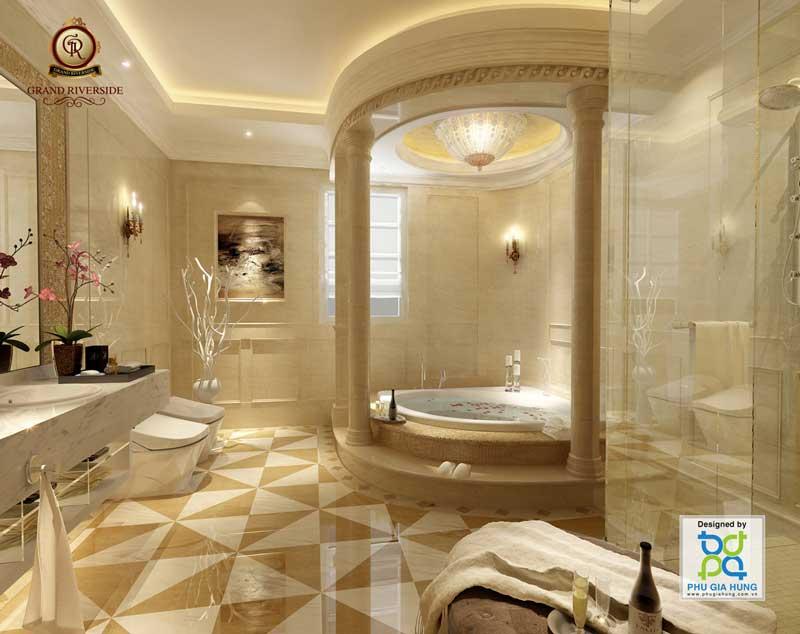 phòng tắm grand riverside
