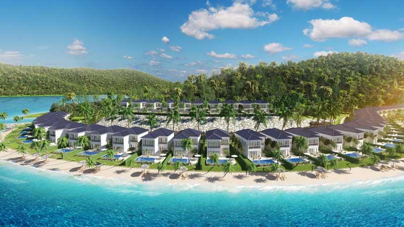 mô phỏng vinpearl nha trang bãi trũ resort