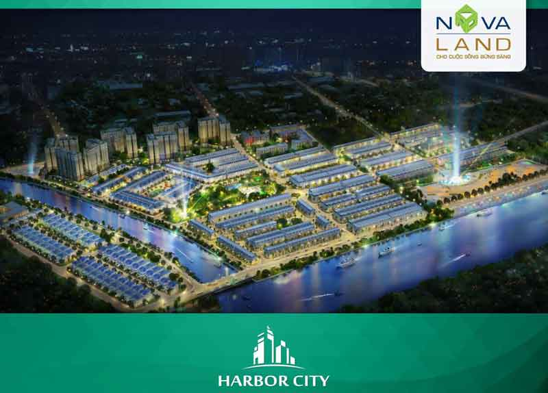 vị trí dự án Harbor City