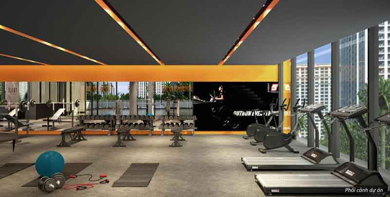 phong-tap-gym-trong-palm-city-keppel-land