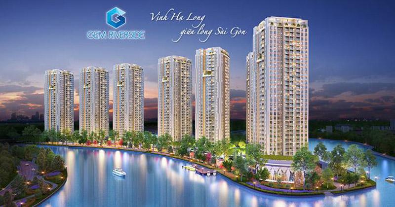 Dự án Gem Riverside được phát triển dựa trên ý tưởng thiết kế từ Vịnh Hạ Long