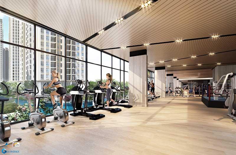 Gym CĂN HỘ GEM RIVERSIDE ĐẤT XANH