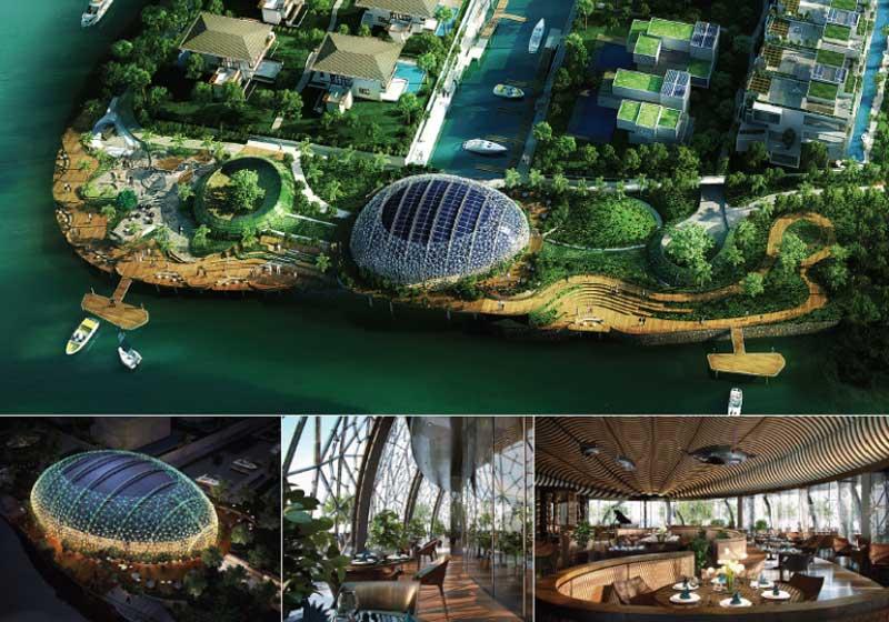 tiện ích dự án evergreen