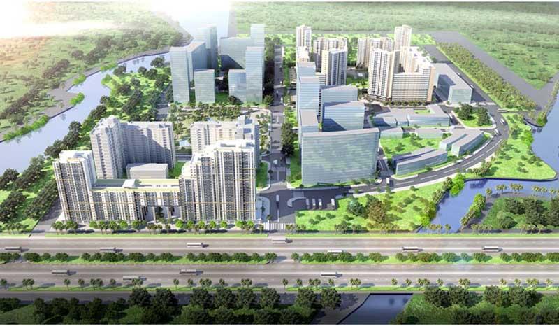 Dự án New City Bình Khánh quận 2 sở hữu vị trí đắc địa