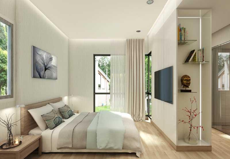 thiết kế căn hộ Flora Mizuki Park