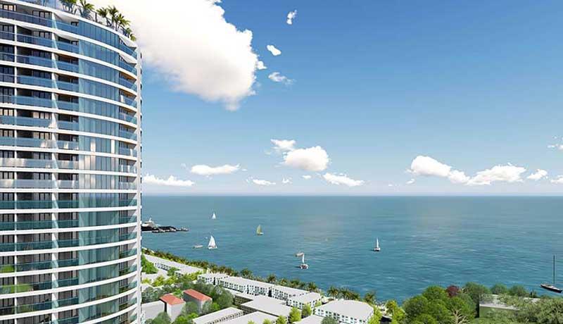 căn hộ Dragon Fairy Nha Trang sở hữu view biển
