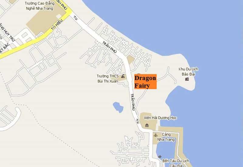 vị trí dragon fairy nha trang
