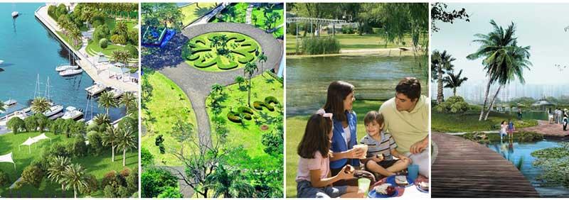 công viên cây xanh vinhomes golden hills đà nẵng