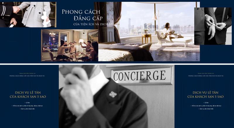 Căn hộ chung cư Grand Central sở hữu hệ thống tiện ích dịch vụ tiêu chuẩn 5 Sao