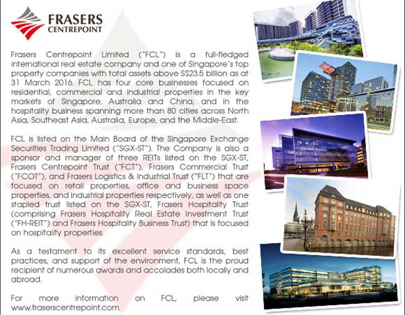 chủ đầu tư Frasers Centrepoint