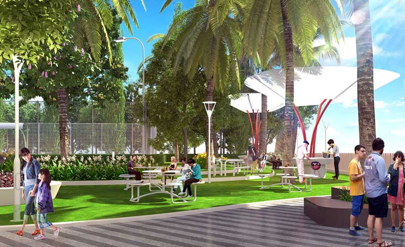 công viên dự án hausneo