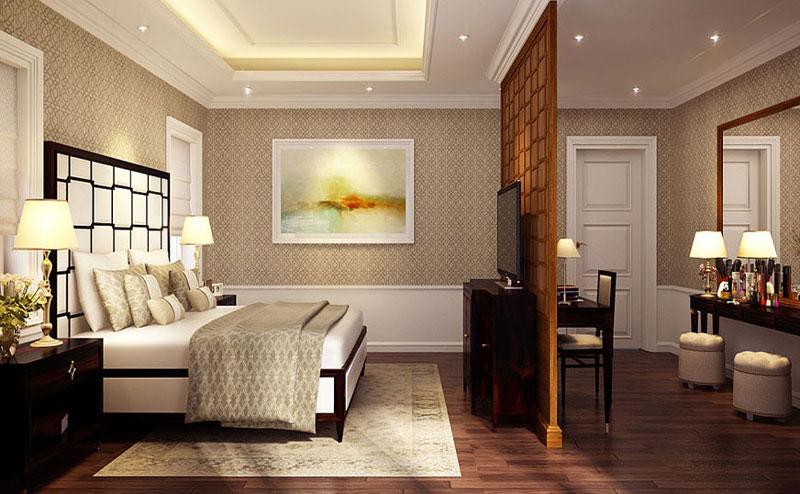 Phòng Ngủ dự án căn hộ chung cư Masteri Mone
