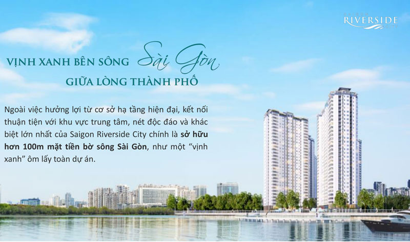 can ho saigon riverside city