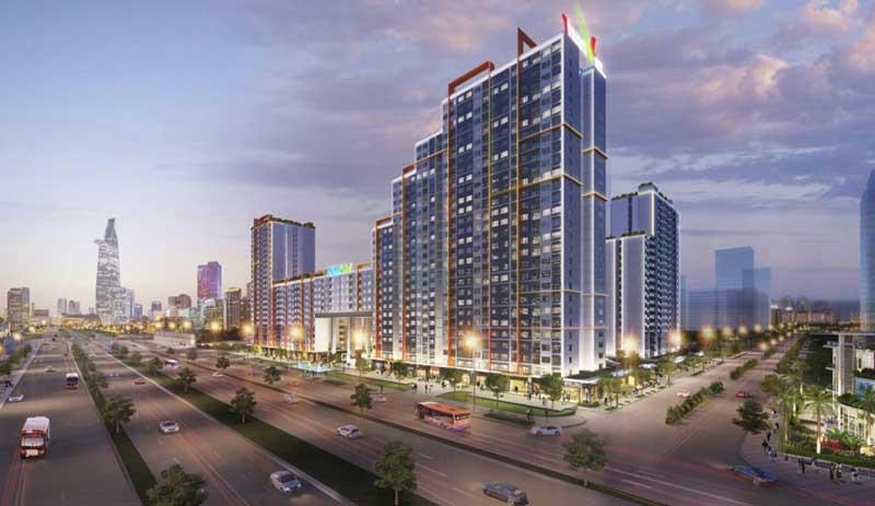 dự án khu căn hộ chung cư Thuận Việt quận 2