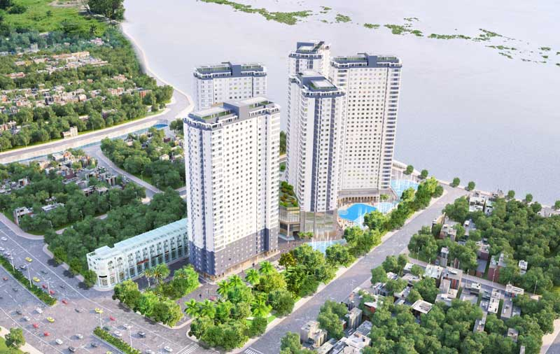 5 Block căn hộ chung cư tại dự án Sai Gon Riverside City