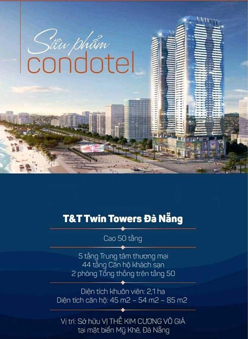 dự án T&T Twin Towers Đà Nẵng