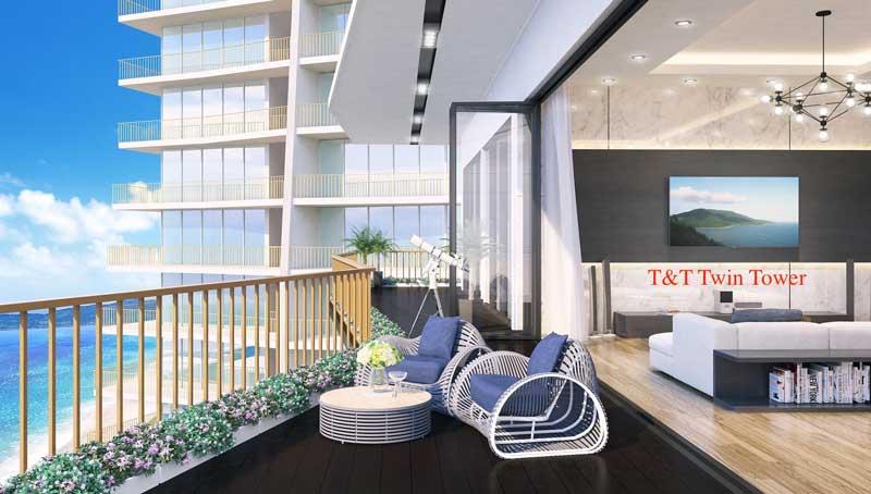 căn hộ Condotel tại dự án T&T Twin Towers