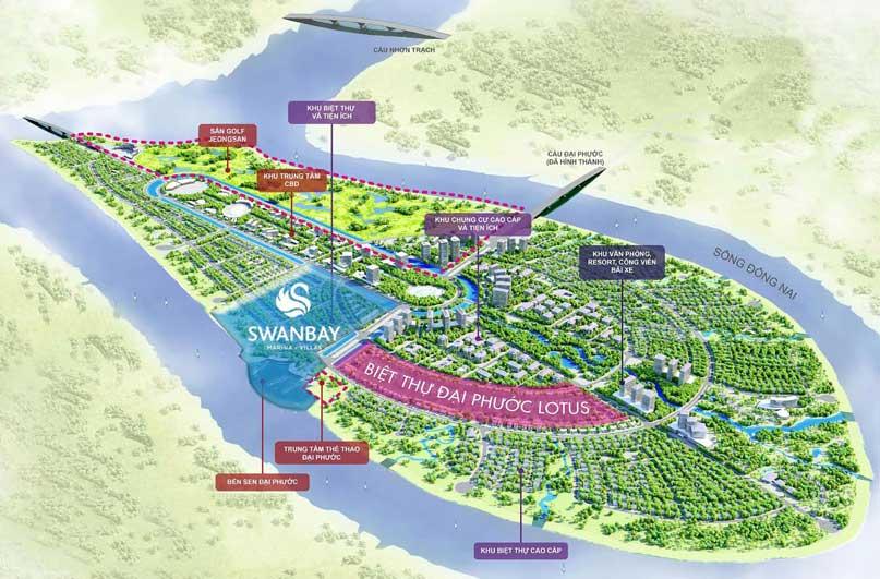 Dự án khu đô thị Swan Bay Đảo Đại Phước