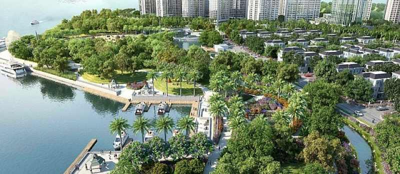 2 Mặt Giáp Sông Đem Lại Không Gian Sống Xanh Cho Cư Dân Saigon Mystery Villas