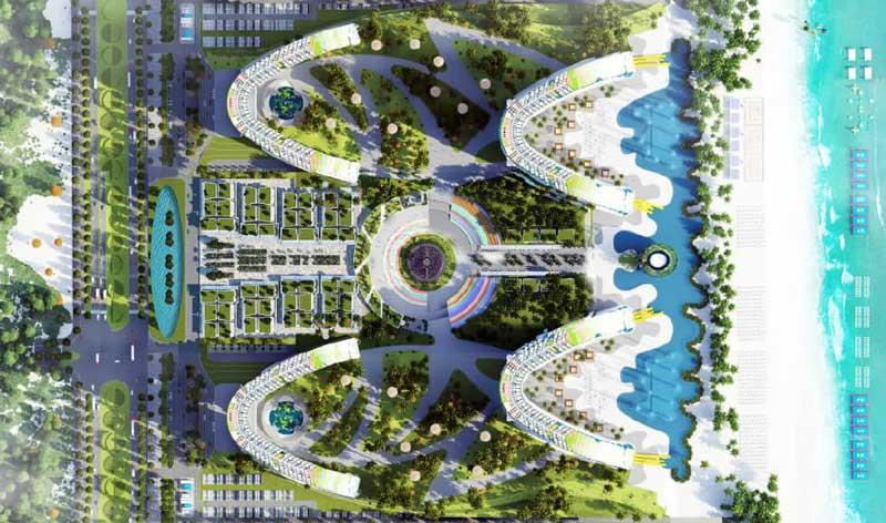 4 tòa tháp Condotel tại dự án The Arena Cam Ranh
