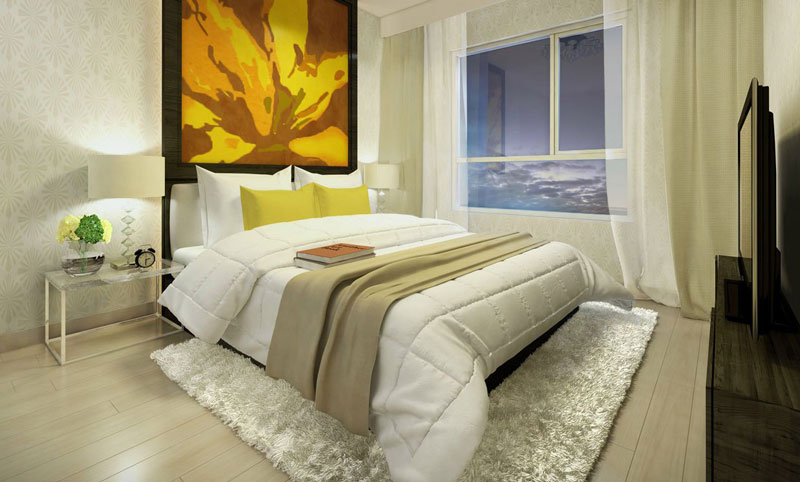 Phòng ngủ lớn tại căn hộ thường Vista Đồng Văn Cống