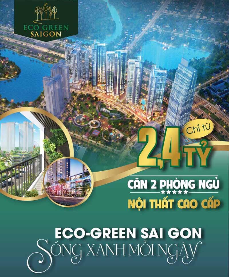 Giá bán căn hộ Eco Green Quận 7