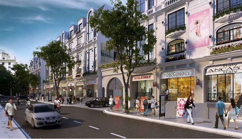 Shophouse Vincity Q9 rộng rãi
