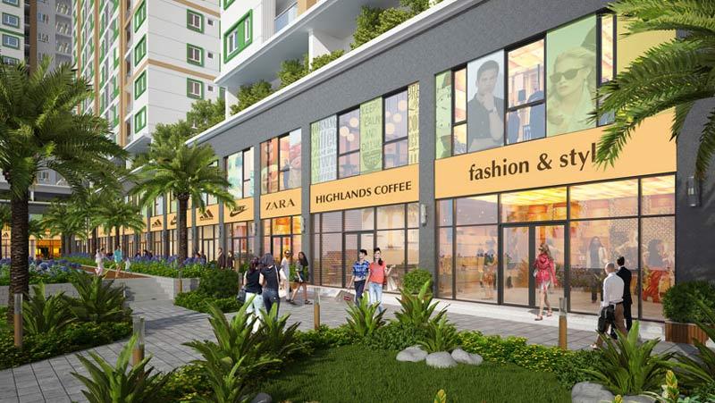 Căn hộ Shophouse Vincity Quan 9 được thiết kế theo phong cách tân cổ điển