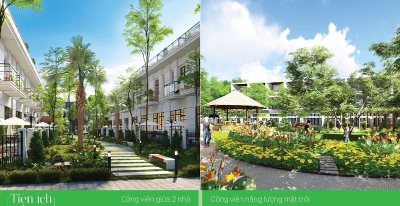 Công viên cây xanh trong dự án