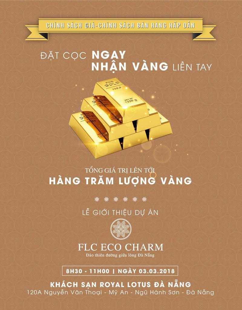 mở bán Giai Đoạn 1 của dự án Eco Charm Đà Nẵng