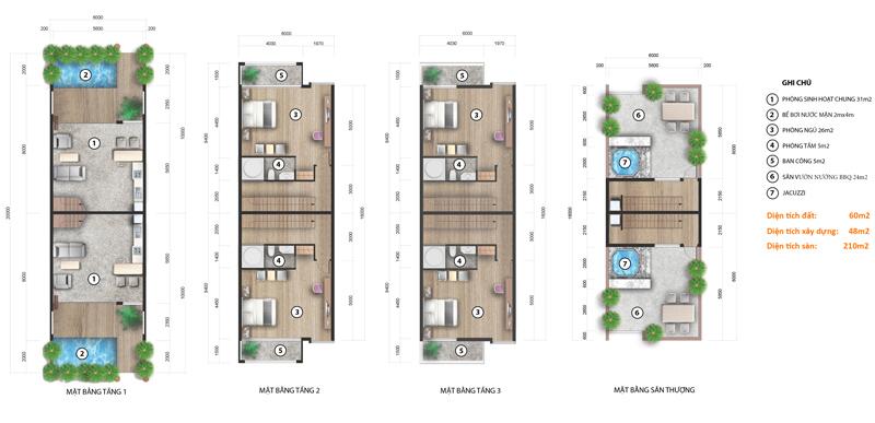 nhà phố liên kế FLC Eco Charm Đà Nẵng