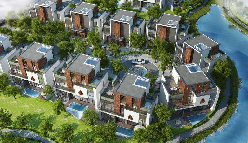Thiết kế biệt thự đơn lập FLC Eco Charm Đà Nẵng