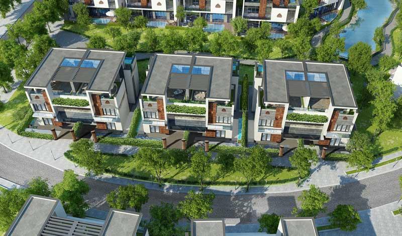 Thiết kế biệt thự song lập FLC Eco Charm Đà Nẵng