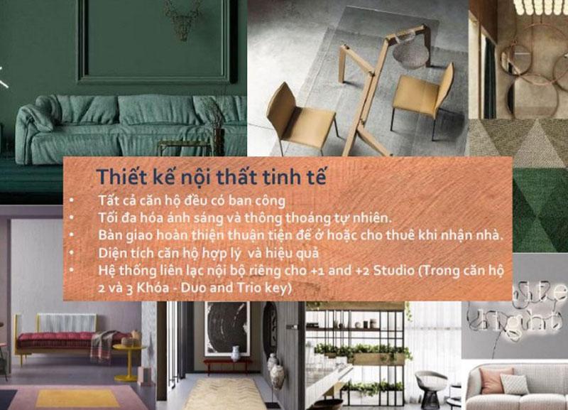 thiết kế nội thất căn hộ De La Sol Capitaland