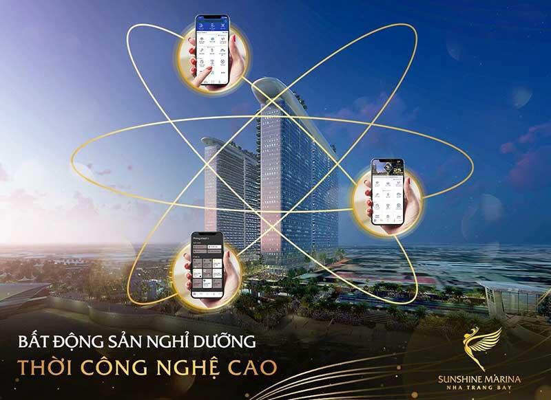 Sunshine Marina Bay Nha Trang thời công nghệ cao