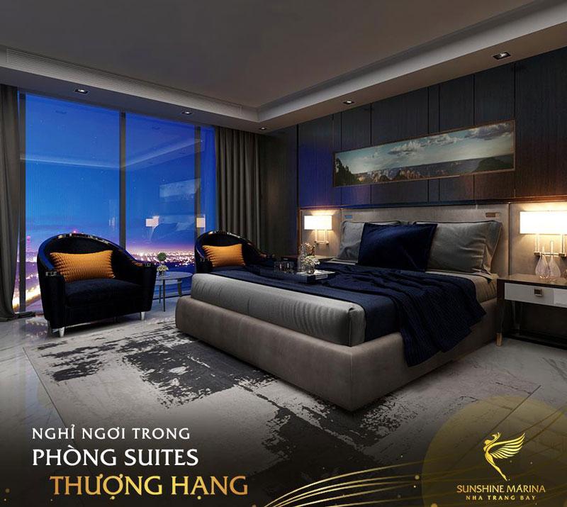 Suites condotel Sunshine Marina Nha Trang