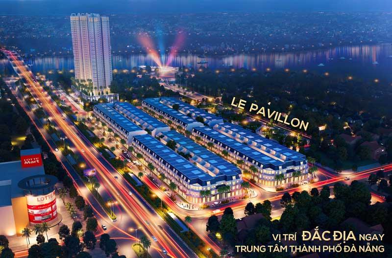 Shophouse Le Pavillon sở hữu vị trí vàng đắc địa ngay tại trung tâm Đà Nẵng