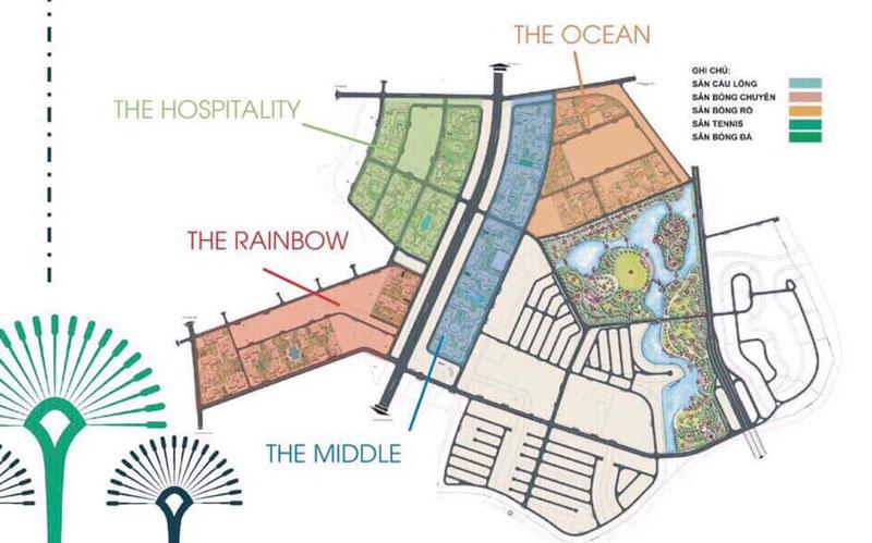 Mặt bằng quy hoạch đại đô thị Vinhome Grand Park Quận 9