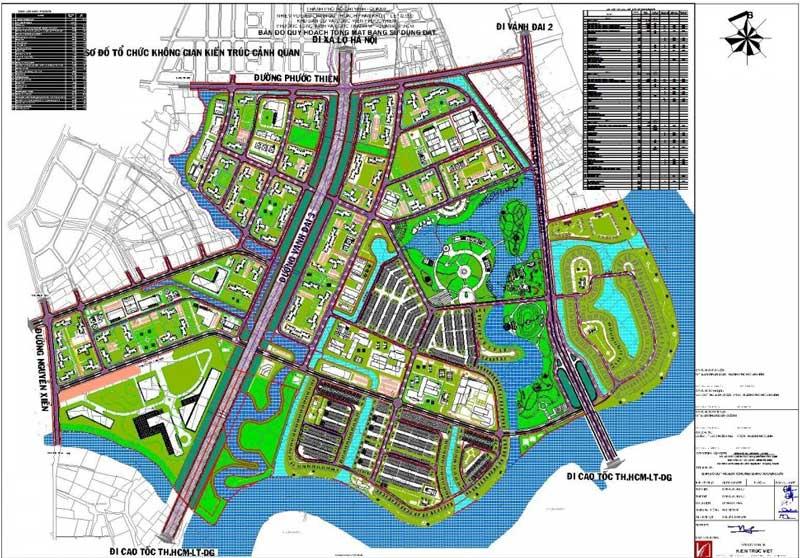 quy hoạch Vincity Grand Park Quận 9
