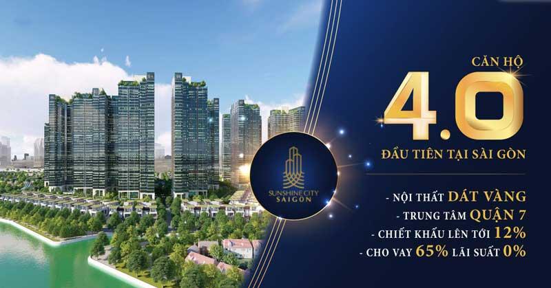 Chính sách bán hàng chung cư Sunshine City Sài Gòn
