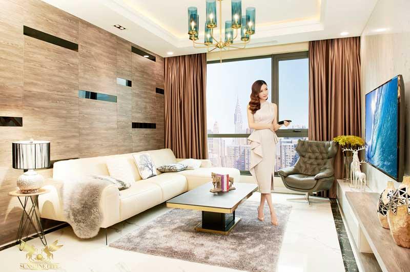 phong cách sang trọng tại căn hộ hạng sang Sunshine City Sai Gon Quận 7