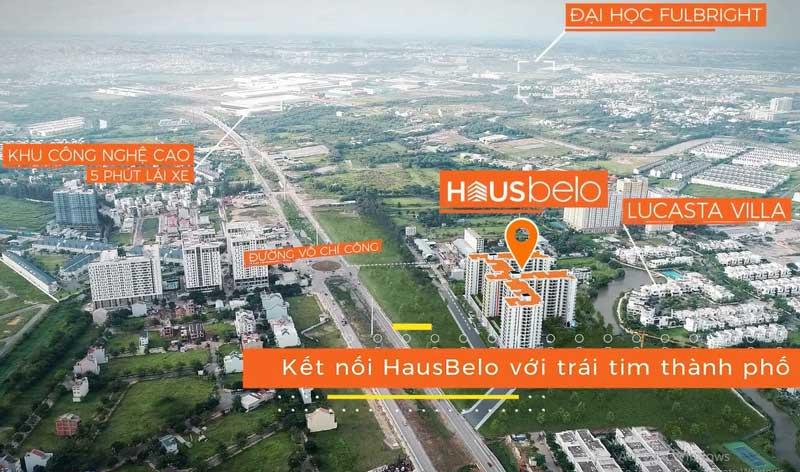 Kết nối linh hoạt từ dự án HausBelo tại quận 9
