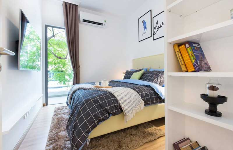Phòng ngủ căn hộ HausBelo tại quận 9
