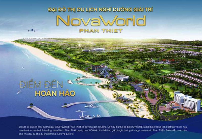 Dự án biệt thự Novaworld Phan Thiết của Novaland chính thức mở bán