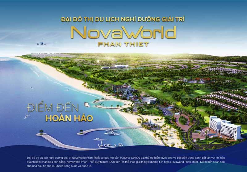 mở bán dự án nhà phố Novaworld tại Phan Thiết