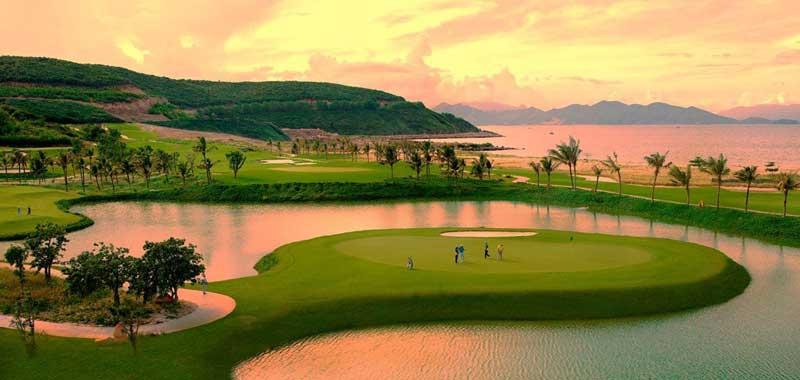 Sân Golf tiêu chuẩn quốc tế trong dự án Novaworld ở Phan Thiết
