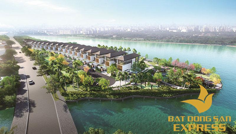 Biệt thự Palm Marina Quận 9 ven sông