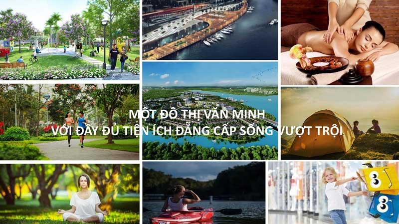 Cuộc sống thịnh vượng tại khu đô thị aqua city novaland đồng nai