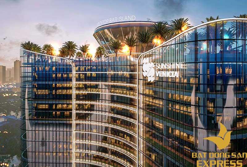 Hệ thống tiện ích của dự án được thiết kế bố trí trên tầng thượng